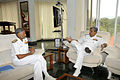 Chief of Materiel Vice Admiral NN Kumar calls on FOC-in-C (East) Vice Admiral Anil Chopra.jpg