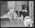 Children of Andrew Dutton, miner, living in company housing project. Consolidated Coal Company, Bankhead Mine... - NARA - 540637.tif