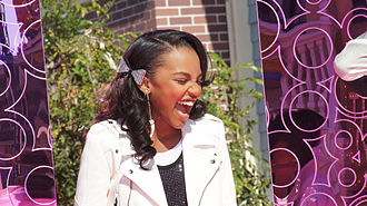 China Anne McClain - McClain performing at Disney Parks Christmas Day Parade 2011.
