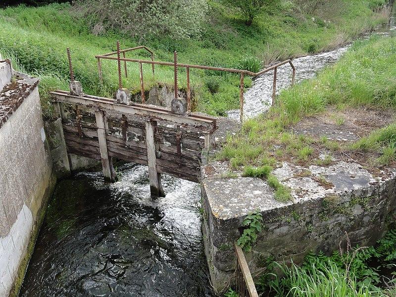 Chivy-lès-Étouvelles (Aisne) écluse du moulin