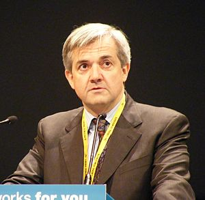 Liberal Democrat Home Affairs spokesman - Image: Chris Huhne MP crop