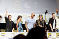 Chris Pratt, Zoe Saldana, Dave Bautista, Benicio Del Toro & Lee Pace (9361555991).jpg