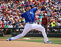 Chris Young delivers a pitch (25087262663).jpg