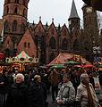 Christmas Market Kaiserslautern 2009 Evangelische Pfarrkirche (Stiftskirche).JPG