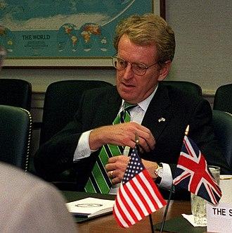 Christopher Meyer - Ambassador Christopher Meyer meeting with Donald H. Rumsfeld on 30 October 2001