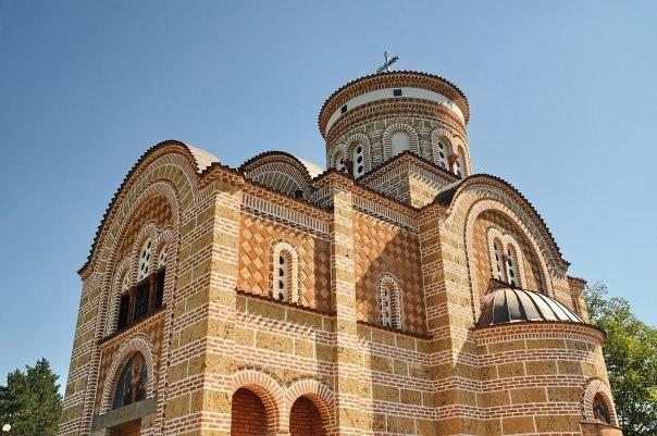 Church of Saint Tsar Lazar on Ljubić hill