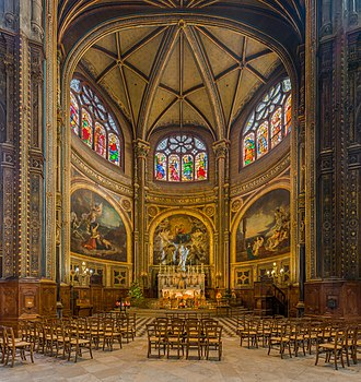 Saint-Eustache, Paris - The Chapel of the Virgin