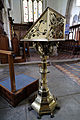 Church of St Mary Hatfield Broad Oak Essex England - brass lectern.jpg