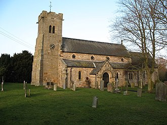 St Radegund's Church, Scruton - Image: Church of St Radegund, Scruton geograph.org.uk 636556
