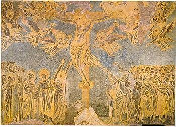 Crocifissione del transetto sinistro