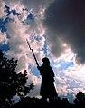 """Cincinnati - Spring Grove Cemetery & Arboretum """"Civil War Soldier"""" (3910945456).jpg"""