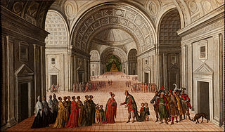 The Meeting of Solomon and the Queen of Sheba