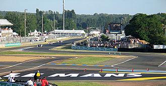 Circuit de la Sarthe - Image: Circuit de la Sarthe Ford Chicanes