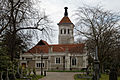 City of London Cemetery - East Chapel old crematorium from northwest - Newham, London England.jpg