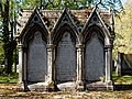 City of London Cemetery - St Dionis Backchurch reburials monument - Newham, London England 3.jpg