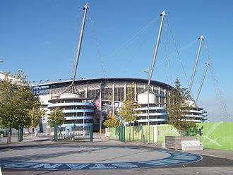 Architectural technology - City of Manchester Stadium