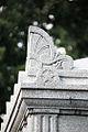 Civil War Unknowns Memorial - corner detail - Arlington National Cemetery - 2011.JPG