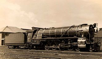 South African type JT tender - Image: Class 15E 2878 (4 8 2)