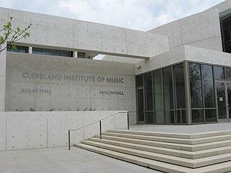 Cleveland Institute of Music - CIM's East Boulevard entrance