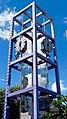 Clock Tower, Chiming Clock 時計, Shibuya Public Hall, Shibuya, Tokyo, Japan (26446108019).jpg