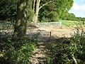 Closed footpath near Clearhedges Wood - geograph.org.uk - 1293030.jpg