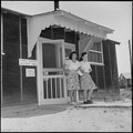 Closing of the Jerome Relocation Center, Denson, Arkansas. A view of the Denson Post Office in the . . . - NARA - 539789.tif