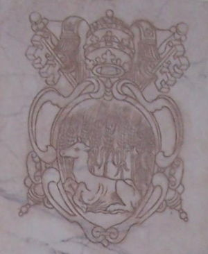 Pope Marcellus II - Coat of Arms of Pope Marcellus II