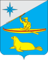 Coat of arms of Aleutsky Raion.png