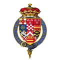 Coat of arms of George Villiers, 2nd Duke of Buckingham, KG.png