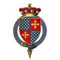 Coat of arms of Sir Robert Willoughby, 1st Baron Willoughby de Broke, KG.png