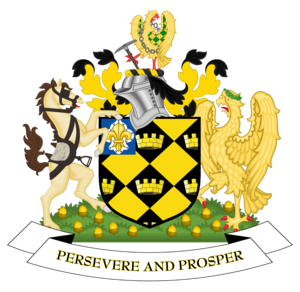 City of Wakefield - Image: Coat of arms of Wakefield City Council