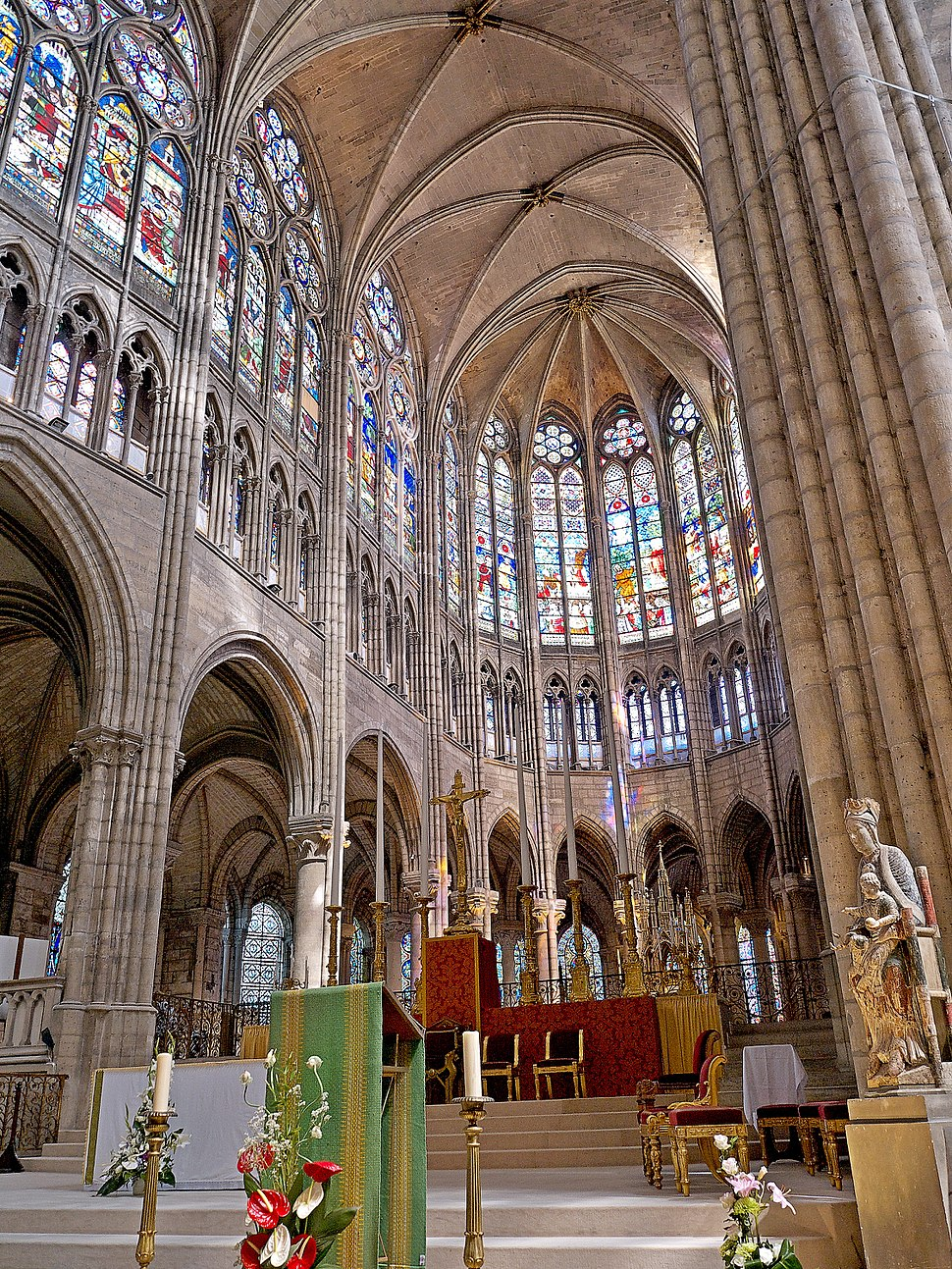 Coeur de la Basilique de Saint-Senis