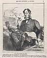 Coffee house politics, from 'The good bourgeois,' published in Le Charivari, April 21, 1864 MET DP876864.jpg