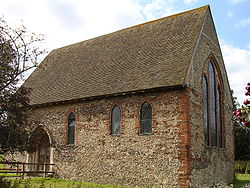 Coggeshall Abbey in Coggeshall, Essex