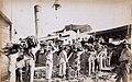 Collectie Nationaal Museum van Wereldculturen TM-60061658 Het laden van een stoomschip met bananen Jamaica.jpg