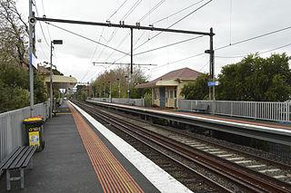 Collingwood railway station railway station in Abbotsford, Melbourne, Victoria, Australia