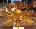 Colombia, yotoco (calima), ornamento per la testa, I-VII sec ca, oro sbalzato 02.JPG