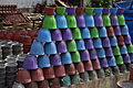 Coloured Clay Pots.JPG
