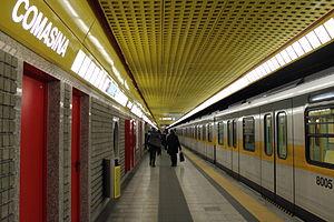 Comasina (Milan Metro) - Image: Comasina metro station (Milan metro) linea 3