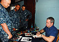 Comedian Bernie McGrenahan signs autographs 110608-N-OS662-016.jpg