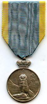 Commemorative Medal of the African Campaigns 1914-1917 OBVERSE