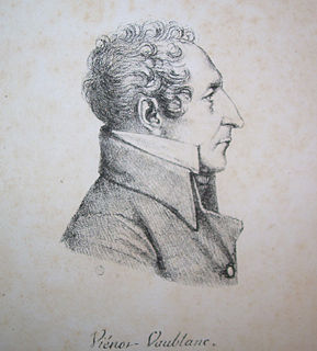 Vincent-Marie Viénot, Count of Vaublanc French count