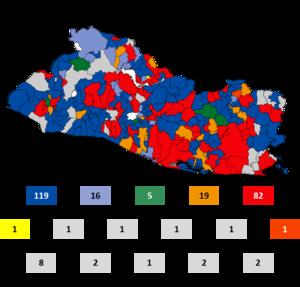 ganadores municipales: