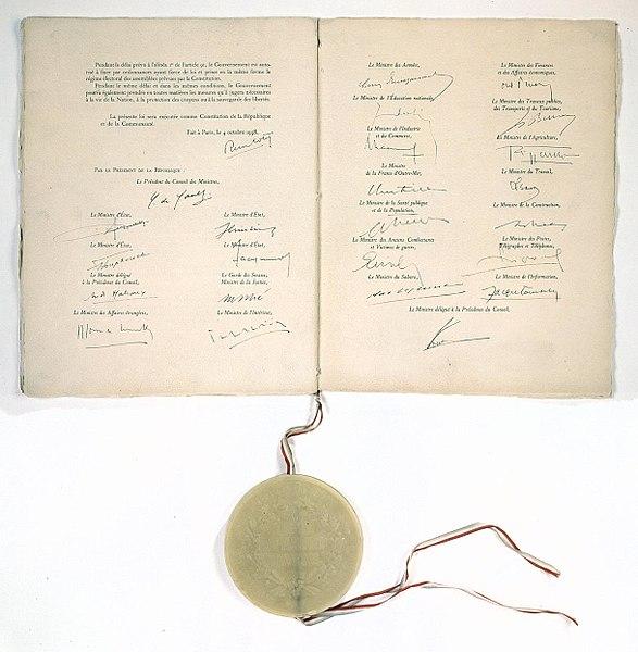 Le role du conseil constitutionnel dissertation