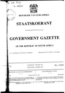 Constitution of the Republic of South Africa Amendment Act 1994 from Government Gazette.djvu