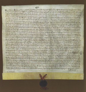 Manuel Pessanha - Royal charter of King Denis of Portugal, nominating Manuel Pessanha as first Admiral of the Portuguese Navy.