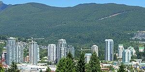 Coquitlam - Image: Coquitlam Town Centre Area