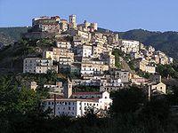 View of Corigliano Calabro.