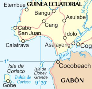 Insular Region (Equatorial Guinea) - Corisco, Elobey Grande and Elobey Chico islands