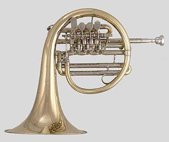 Darzu ist erschienen der Sohn Gottes, BWV 40 - Corno da caccia